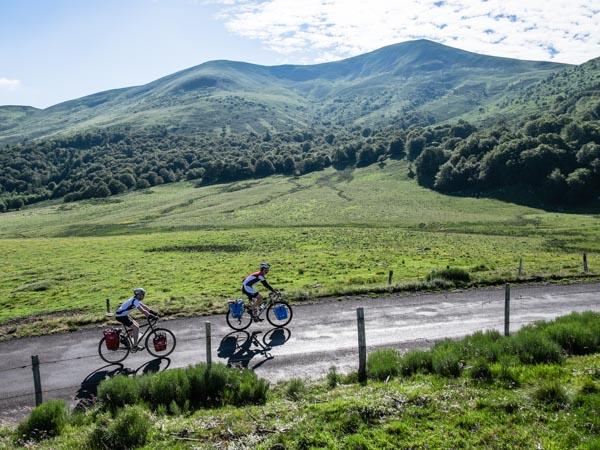 Radreise Reportage Zentralmassiv/Auvergne, Clermont-Ferrand bis Aurillac