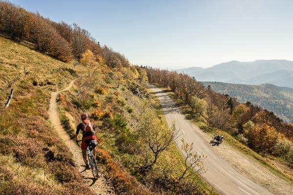 Reisereportage Vogesen, Frankreich, Cyclocrossrad, Guebwiller-Tu