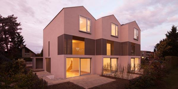 on3 Architekten, Wohntrio, Bottmingerstrasse, Muenchenstein, Switzerland, CHE, © B o e r j e  M u e l l e r  P h o t o g r a p h y , k o n t a k t @ b o e r j e m u e l l e r . c o m