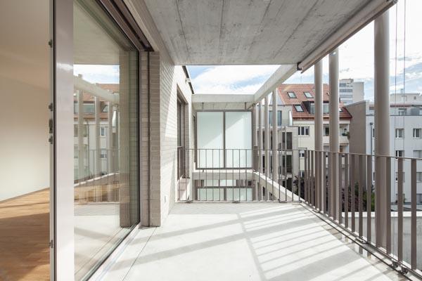 Ueberbauung Thannerstrasse, Basel, Burckhardt + Partner Architekten, Basel, Switzerland, CHE, © B o e r j e  M u e l l e r  P h o t o g r a p h y , k o n t a k t @ b o e r j e m u e l l e r . c o m